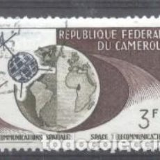 Sellos: CAMEROON 1963 SPACE, USED AE.172. Lote 198264317