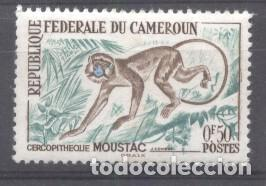 Sellos: Cameroon 1962 Animals, MNH AE.173 - Foto 1 - 198264365