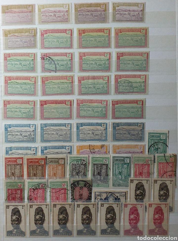 Sellos: Colección de sellos de Camerún en álbum de 8 páginas - Foto 2 - 203408411