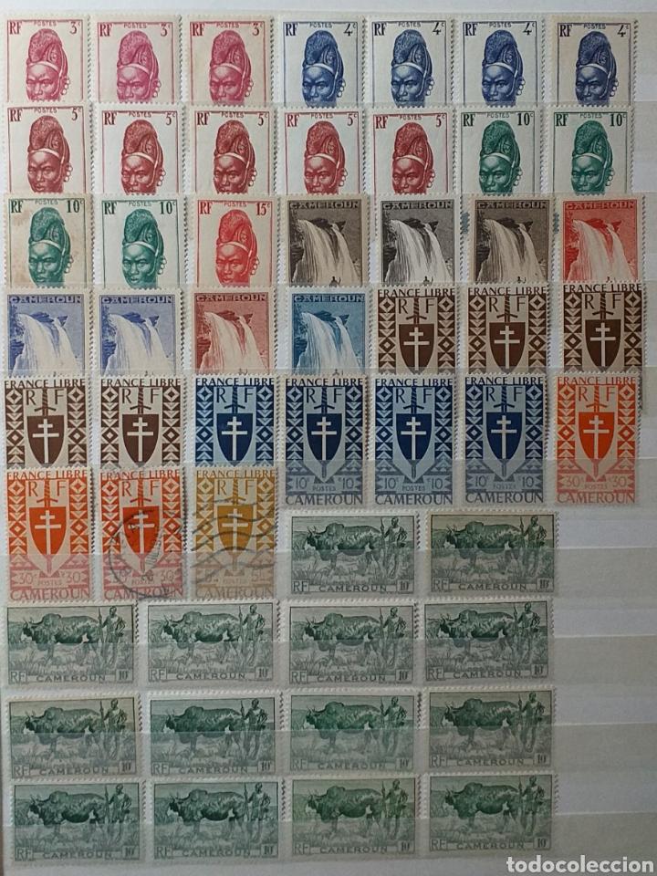 Sellos: Colección de sellos de Camerún en álbum de 8 páginas - Foto 3 - 203408411