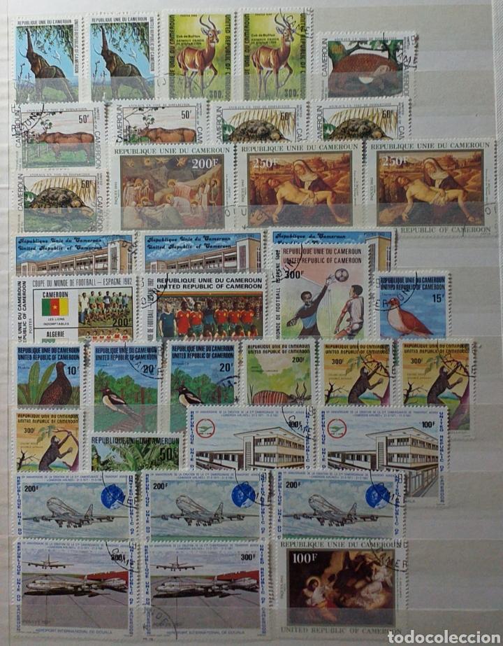Sellos: Colección de sellos de Camerún en álbum de 8 páginas - Foto 10 - 203408411