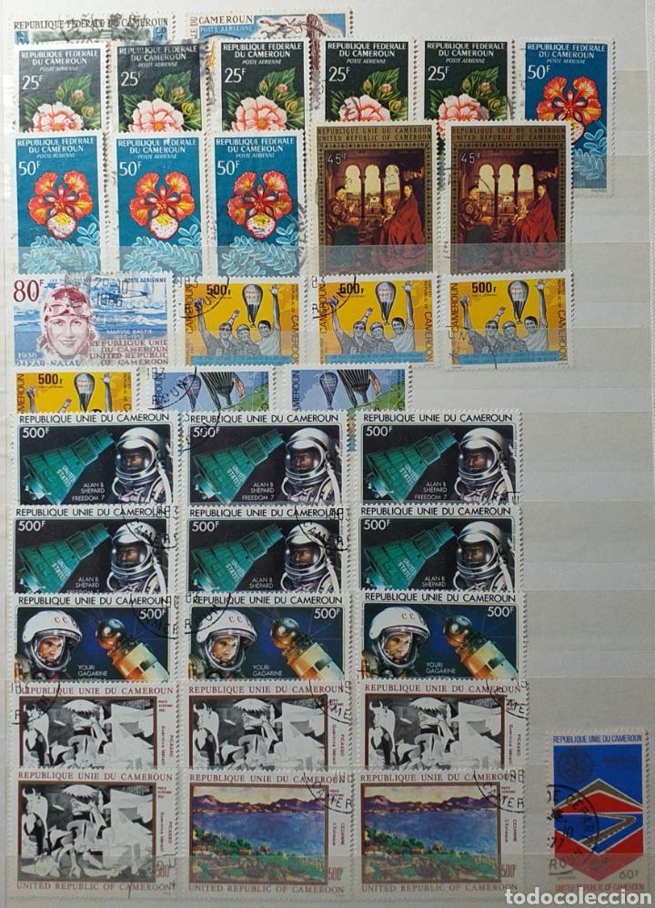 Sellos: Colección de sellos de Camerún en álbum de 8 páginas - Foto 12 - 203408411