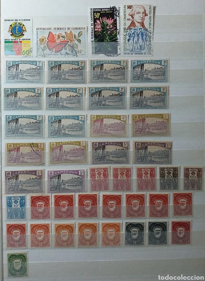 Sellos: Colección de sellos de Camerún en álbum de 8 páginas - Foto 13 - 203408411