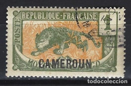CAMERÚN 1920 - SELLO DEL CONGO SOBREIMPRESO - SELLO USADO (Sellos - Extranjero - África - Camerún)
