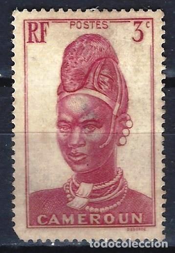 CAMERÚN 1939 - IMÁGENES DE CAMERÚN - SELLO SIN GOMA (Sellos - Extranjero - África - Camerún)