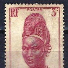 Sellos: CAMERÚN 1939 - IMÁGENES DE CAMERÚN - SELLO SIN GOMA. Lote 206120928