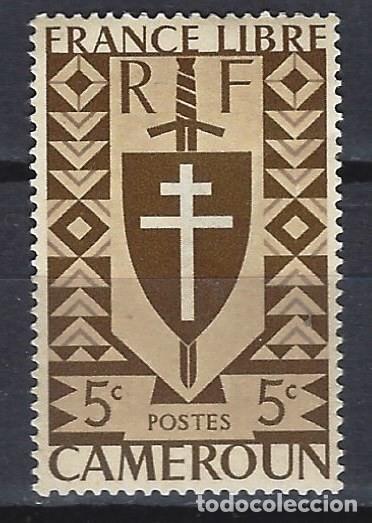 CAMERÚN 1942 - EMISIÓN, FRANCIA LIBRE - SELLO NUEVO C/F* (Sellos - Extranjero - África - Camerún)