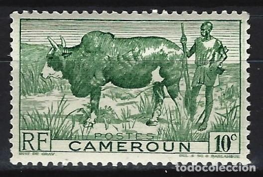 CAMERÚN 1946 - MOTIVOS LOCALES - SELLO NUEVO ** (Sellos - Extranjero - África - Camerún)