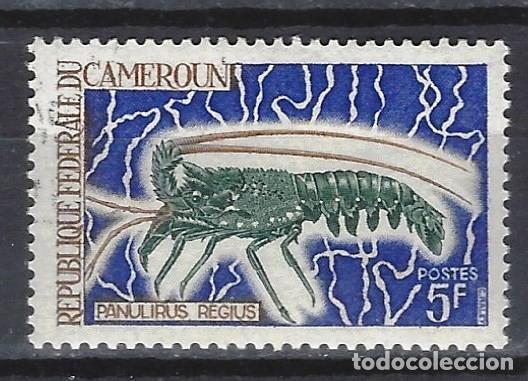 CAMERÚN 1968 - FAUNA CRUSTÁCEOS - SELLO USADO (Sellos - Extranjero - África - Camerún)