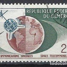 Sellos: CAMERÚN 1963 - TELECOMUNICACIONES - SELLO USADO. Lote 209764963