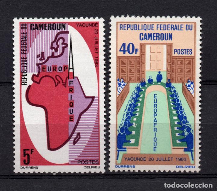 CAMERUN 401/02** - AÑO 1965 - 2º ANIVERSARIO DE EUROPAFRICA (Sellos - Extranjero - África - Camerún)
