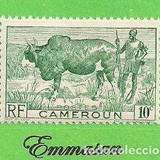 Sellos: CAMERÚN - MICHEL 270 - YVERT 276 - PASTOR. (1941).** NUEVO SIN FIJASELLOS.. Lote 219211186