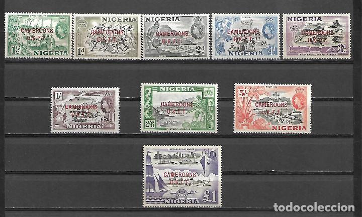 COLONIA INGLESA CAMERUN BRITANIQUE SELLOS DE LA SERIE SOBRECARGADA DE NIGERIA NUEVOS PERFECTOS (Sellos - Extranjero - África - Camerún)