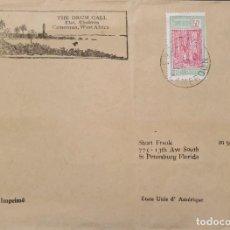 Sellos: O) CAMERÚN DE 1937, TOCANDO GOMA - ÁRBOL, EL LOGOTIPO THE DRUM CALL, A EE. UU.. Lote 236471015