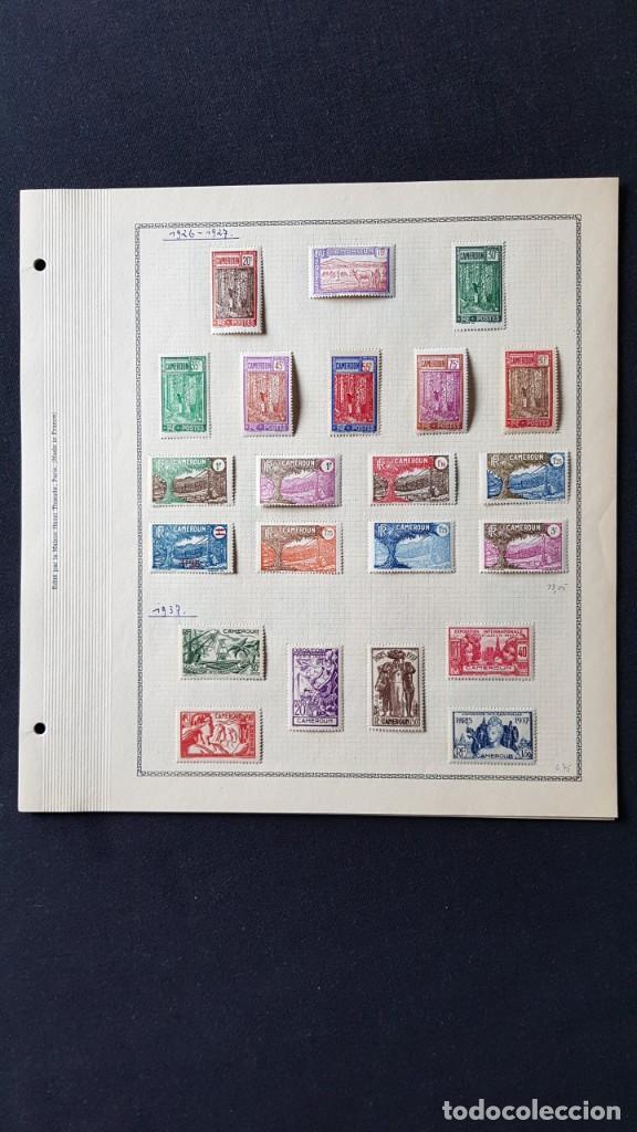 Sellos: CAMERUN 7 HOJAS SELLOS 1921-1941 MH Yvert 84-162 y Taxe 1925-1939 Yvert 1-21 +1941 Francia África - Foto 4 - 236632670
