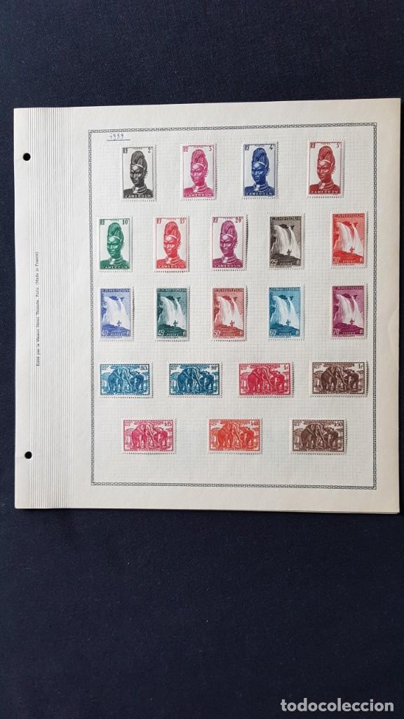 Sellos: CAMERUN 7 HOJAS SELLOS 1921-1941 MH Yvert 84-162 y Taxe 1925-1939 Yvert 1-21 +1941 Francia África - Foto 5 - 236632670