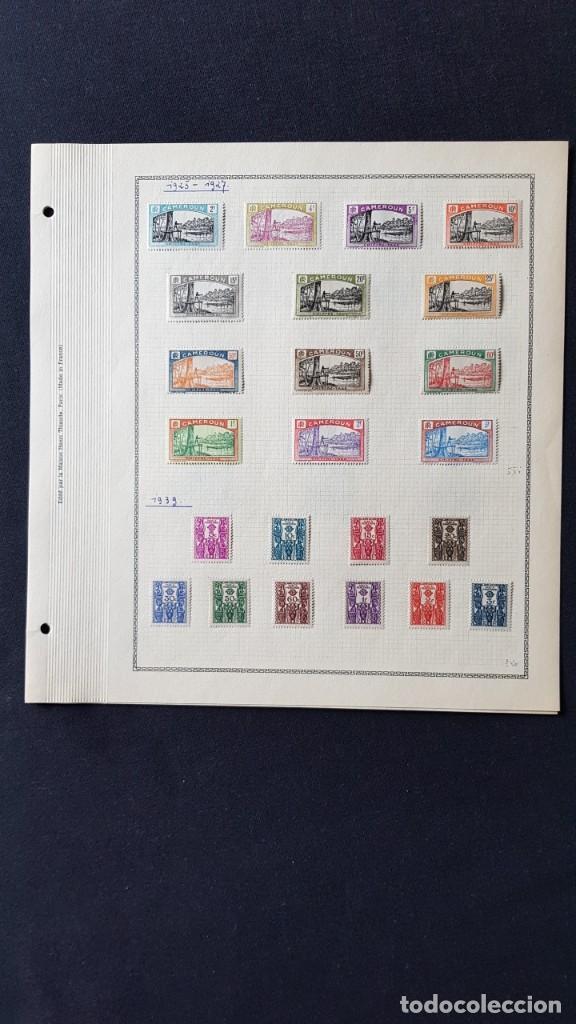 Sellos: CAMERUN 7 HOJAS SELLOS 1921-1941 MH Yvert 84-162 y Taxe 1925-1939 Yvert 1-21 +1941 Francia África - Foto 6 - 236632670