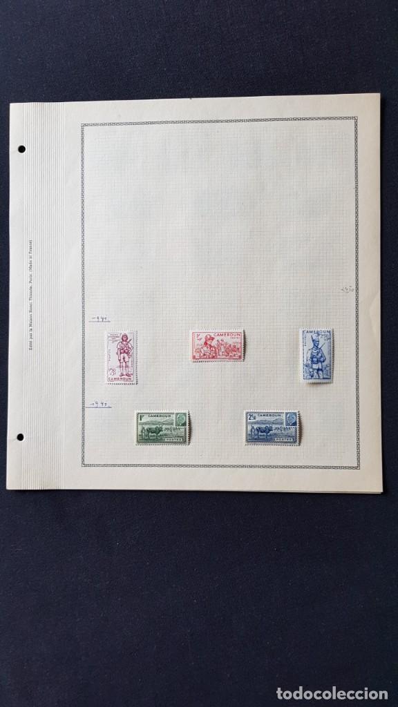 Sellos: CAMERUN 7 HOJAS SELLOS 1921-1941 MH Yvert 84-162 y Taxe 1925-1939 Yvert 1-21 +1941 Francia África - Foto 7 - 236632670