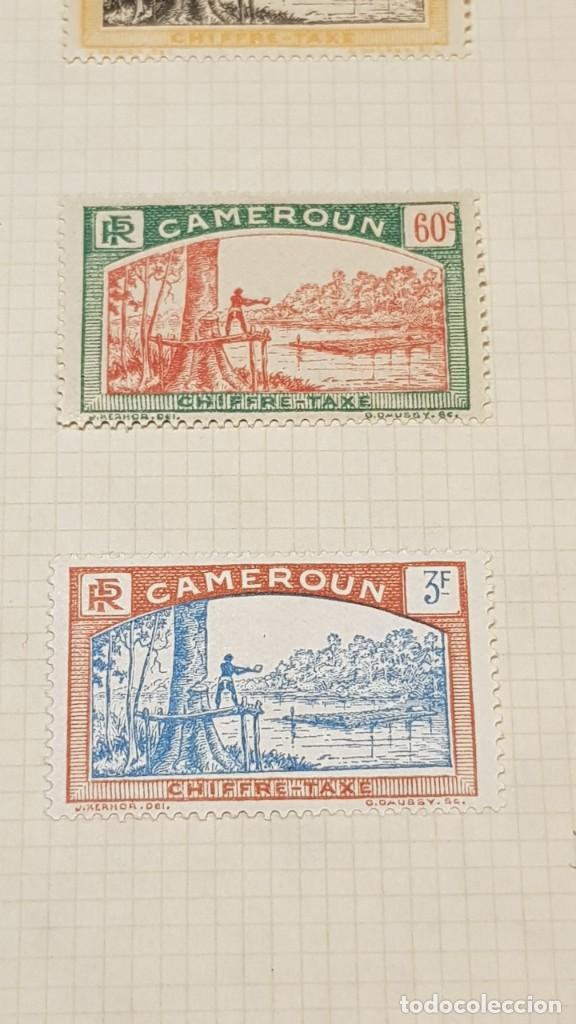 Sellos: CAMERUN 7 HOJAS SELLOS 1921-1941 MH Yvert 84-162 y Taxe 1925-1939 Yvert 1-21 +1941 Francia África - Foto 9 - 236632670