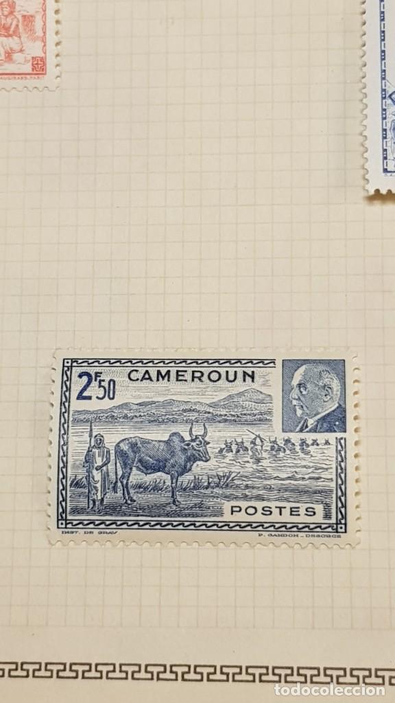 Sellos: CAMERUN 7 HOJAS SELLOS 1921-1941 MH Yvert 84-162 y Taxe 1925-1939 Yvert 1-21 +1941 Francia África - Foto 11 - 236632670