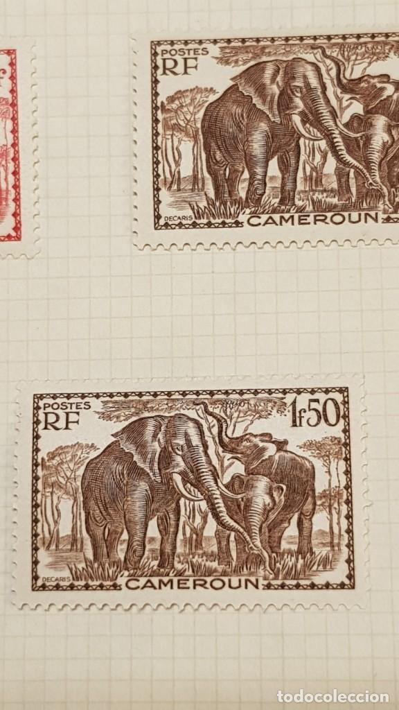 Sellos: CAMERUN 7 HOJAS SELLOS 1921-1941 MH Yvert 84-162 y Taxe 1925-1939 Yvert 1-21 +1941 Francia África - Foto 12 - 236632670