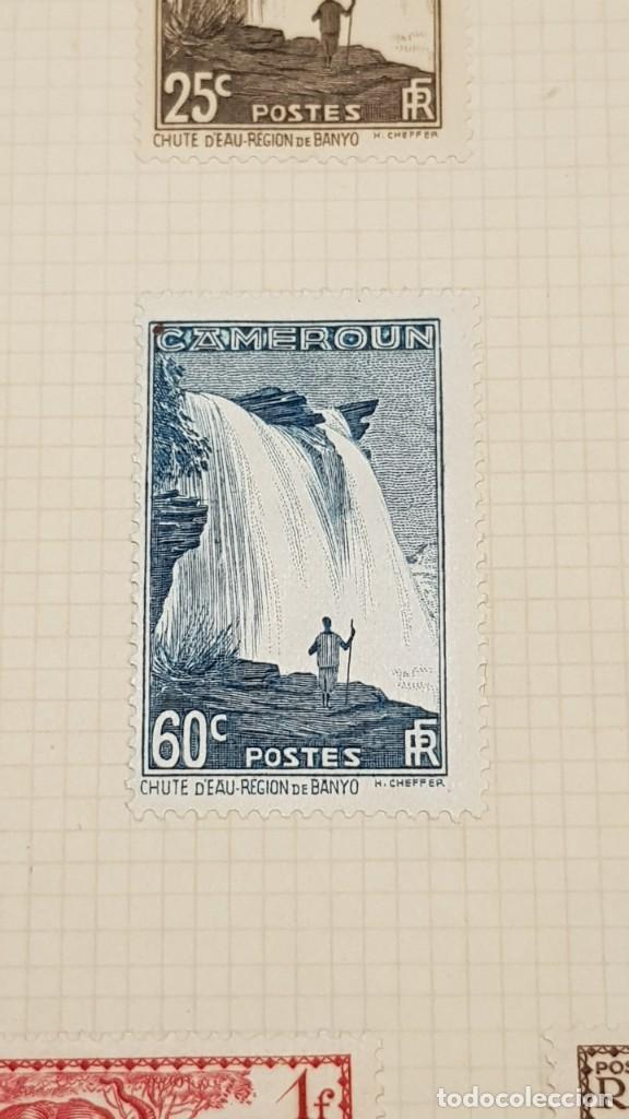 Sellos: CAMERUN 7 HOJAS SELLOS 1921-1941 MH Yvert 84-162 y Taxe 1925-1939 Yvert 1-21 +1941 Francia África - Foto 13 - 236632670