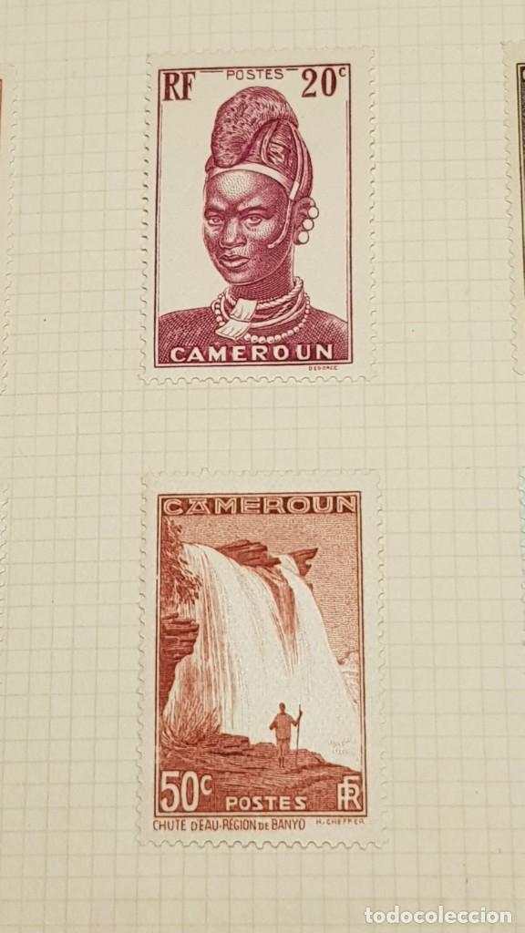 Sellos: CAMERUN 7 HOJAS SELLOS 1921-1941 MH Yvert 84-162 y Taxe 1925-1939 Yvert 1-21 +1941 Francia África - Foto 14 - 236632670