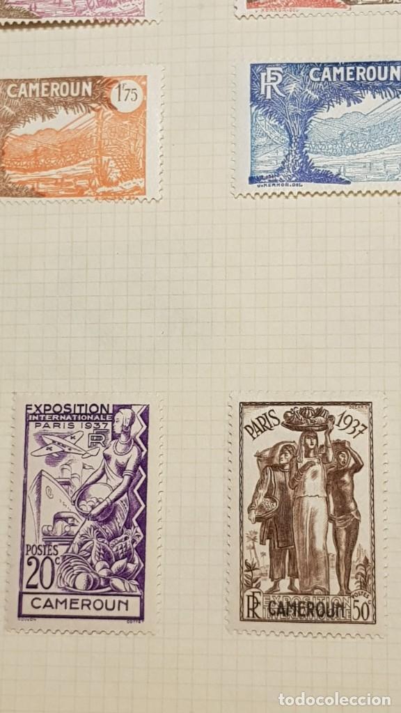 Sellos: CAMERUN 7 HOJAS SELLOS 1921-1941 MH Yvert 84-162 y Taxe 1925-1939 Yvert 1-21 +1941 Francia África - Foto 15 - 236632670