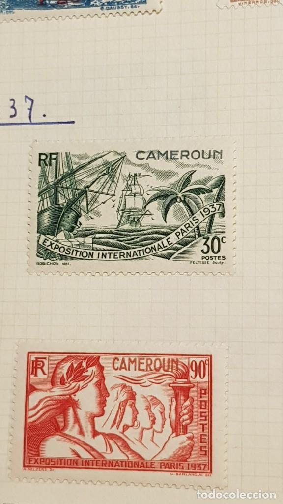 Sellos: CAMERUN 7 HOJAS SELLOS 1921-1941 MH Yvert 84-162 y Taxe 1925-1939 Yvert 1-21 +1941 Francia África - Foto 16 - 236632670