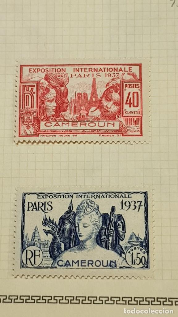 Sellos: CAMERUN 7 HOJAS SELLOS 1921-1941 MH Yvert 84-162 y Taxe 1925-1939 Yvert 1-21 +1941 Francia África - Foto 17 - 236632670