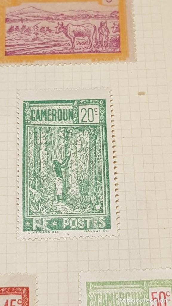 Sellos: CAMERUN 7 HOJAS SELLOS 1921-1941 MH Yvert 84-162 y Taxe 1925-1939 Yvert 1-21 +1941 Francia África - Foto 18 - 236632670