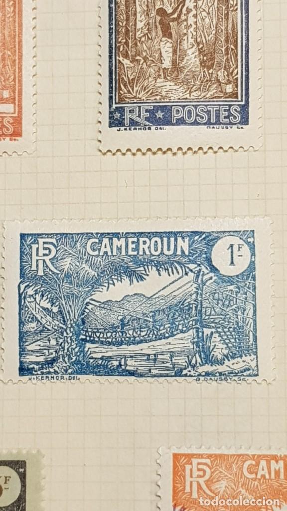 Sellos: CAMERUN 7 HOJAS SELLOS 1921-1941 MH Yvert 84-162 y Taxe 1925-1939 Yvert 1-21 +1941 Francia África - Foto 19 - 236632670