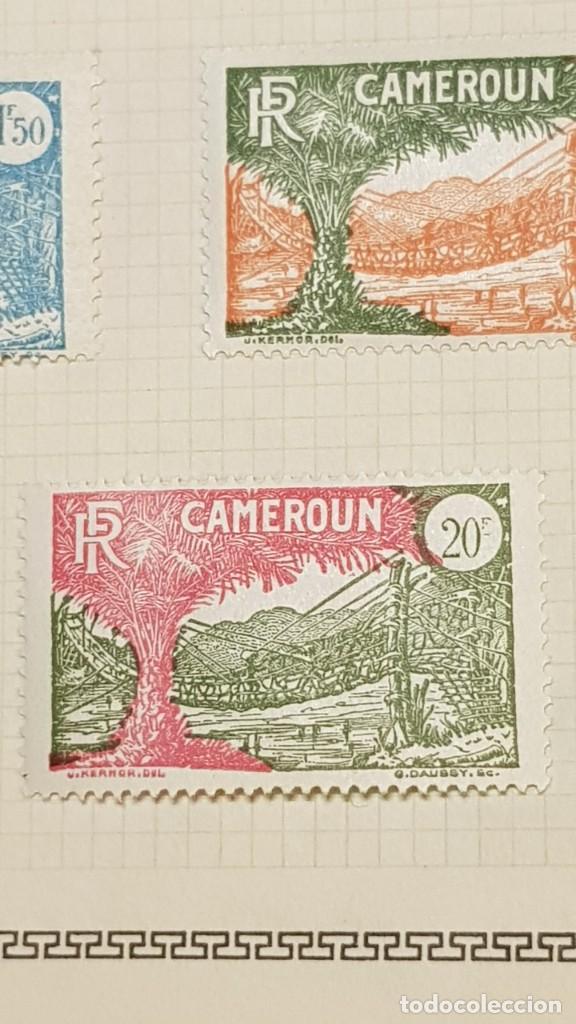 Sellos: CAMERUN 7 HOJAS SELLOS 1921-1941 MH Yvert 84-162 y Taxe 1925-1939 Yvert 1-21 +1941 Francia África - Foto 20 - 236632670