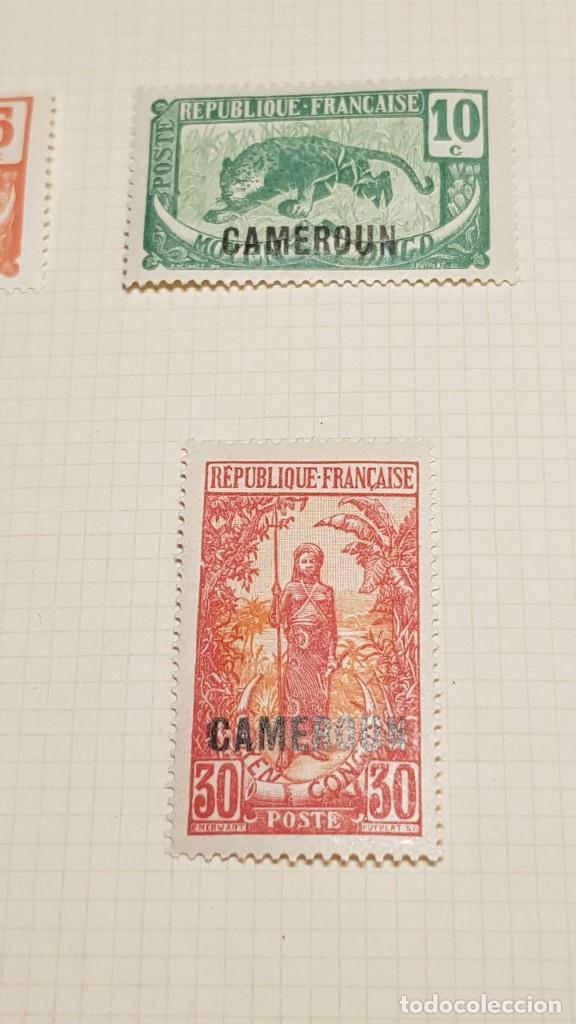 Sellos: CAMERUN 7 HOJAS SELLOS 1921-1941 MH Yvert 84-162 y Taxe 1925-1939 Yvert 1-21 +1941 Francia África - Foto 23 - 236632670