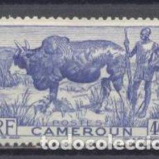 Sellos: CAMERUM, R:F:1946, YVERT TELLIER 278, NUEVO. Lote 240098645