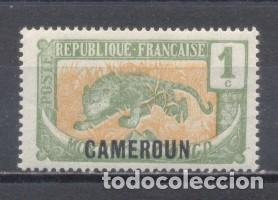 CAMERUM, R:F:1921, YVERT TELLIER 84, NUEVO (Sellos - Extranjero - África - Camerún)