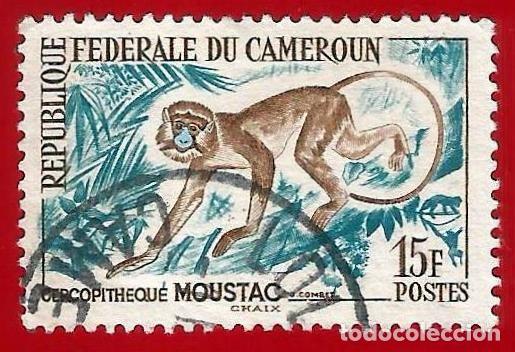 CAMERUN. 1962. FAUNA. MONO (Sellos - Extranjero - África - Camerún)