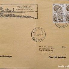Sellos: O) 1952 CAMERÚN, CAMERÚN, MUJERES TIKAR, FENOTIPO, THE DRUM CALL, ELAT, EBOLOWA, A EE. UU.. Lote 249258605