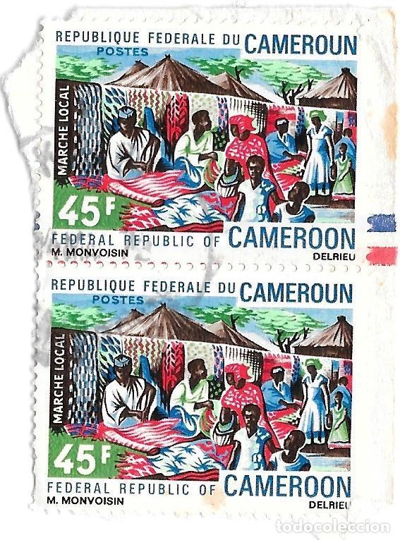 2 SELLOS CAMERÚN (Sellos - Extranjero - África - Camerún)