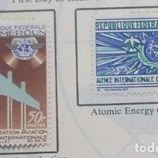 Sellos: O) 1967 CAMERUN, ENERGY, LA AGENCIA INTERNACIONAL DE ENERGÍA ATÓMICA, JET E I.C.A.O, DOVE E I.A.E.A.. Lote 257856040