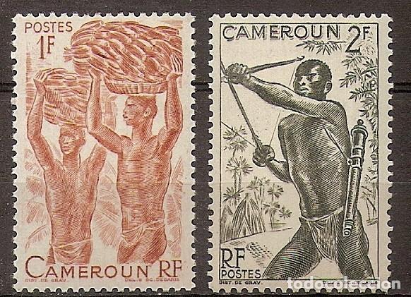 CAMERÚN 1946 - YVERT 282-285 ** (Sellos - Extranjero - África - Camerún)