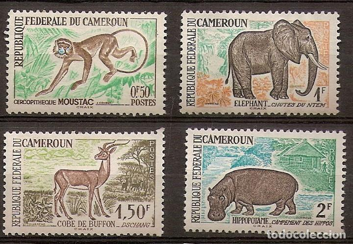 CAMERÚN 1962 - YVERT 339/42 ** (Sellos - Extranjero - África - Camerún)