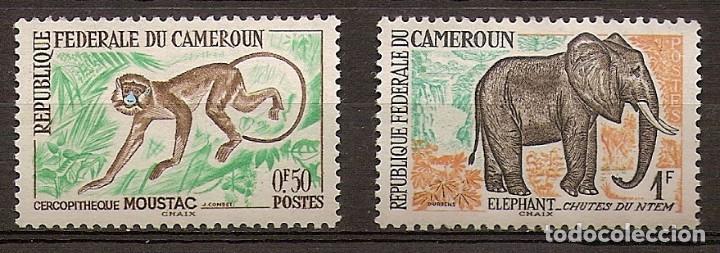 CAMERÚN 1962 - YVERT 339/40 ** (Sellos - Extranjero - África - Camerún)