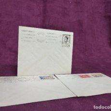 Selos: CAMERÚN, 1961, 3 SOBRES FRANQUEADOS Y CON MATASELLOS, CONMEMORATIVOS CONFERENCIA INTERAFRICANA. Lote 287721128