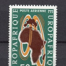 Sellos: CHAD AÉREO 11** - AÑO 1963 - EUROPAFRICA. Lote 55607382
