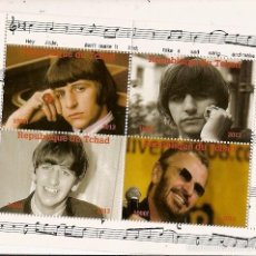 Sellos: CHAD ** & LEGENDS OF ROCK, BEATLES 2013 (9). Lote 58474305