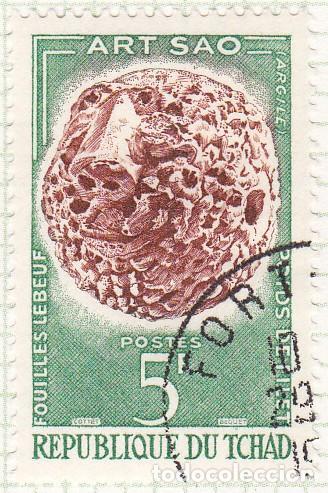 1963 - CHAD - ARTE SAO - PESO DE ARCILLA - YVERT 88 (Sellos - Extranjero - África - Chad)