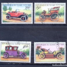 Sellos: THAD, COCHES ANTIGUOS, 1999. Lote 210524162