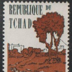 Sellos: CHAD 1962 SCOTT 72 SELLO * ANIMALES Y VISTAS BATHA AND LION MICHEL 71 YVERT 68 TCHAD STAMPS TIMBRE. Lote 220299278