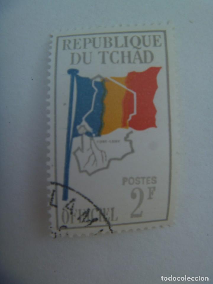SELLO DE LA REPUBLICA DEL CHAD (Sellos - Extranjero - África - Chad)